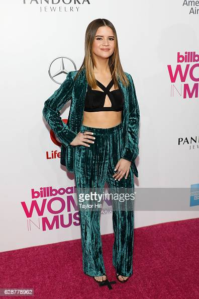 Maren Morris attends the 2016 Billboard Women in Music Awards at Pier 36 on December 9 2016 in New York City