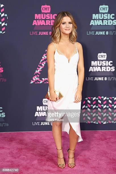 Maren Morris attends the 2016 CMT Music awards at the Bridgestone Arena on June 8 2016 in Nashville Tennessee