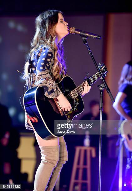 Maren Morris performs onstage at New Faces of Country Music Dinner Performance Sponsored by ACM St Jude Children's Research Hospital | Performances...