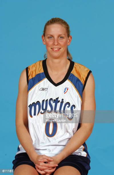 Maren Walseth of the Washington Mystics poses for a portrait at the WNBA Media Day in Washington DC DIGITAL IMAGE NOTE TO USER User expressly...