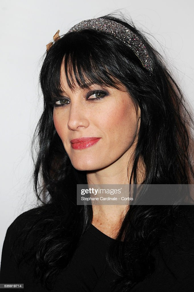 Mareva Galanter attends 'Madame Figaro' 30th Anniversary Party, at Salle Wagram in Paris.