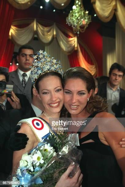 Mareva Galantier Miss Tahiti now Miss France 1999 and Mareva Georges Miss Tahiti
