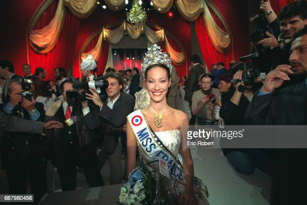 Mareva Galantier Miss Tahiti now Miss France 1999