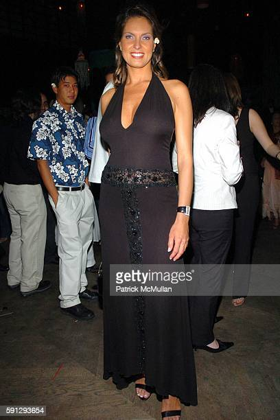 Mareva Georges and Miss France 1991 attend Launch Party For Air Tahiti Nui NYCToTahitiNonstop at Hiro Ballroom on April 28 2005 in New York City