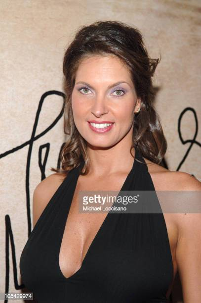 Mareva Georges Miss France 1991 during Air Tahiti Nui NYCToTahiti Nonstop Party at Hiro Ballroom in New York City New York United States