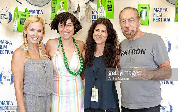 Marfa Film Festival coproducer Eloise DeJoria Marfa Film Festival founder Robin Lambaria Emanuel and the Truth About Fishes director Francesca...