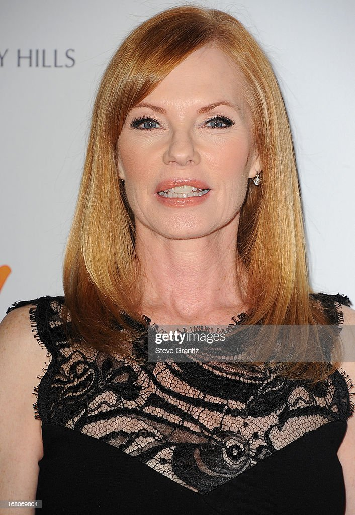 Marg Helgenberger arrives at the 20th Annual Race To Erase MS Gala 'Love To Erase MS' at the Hyatt Regency Century Plaza on May 3, 2013 in Century City, California.