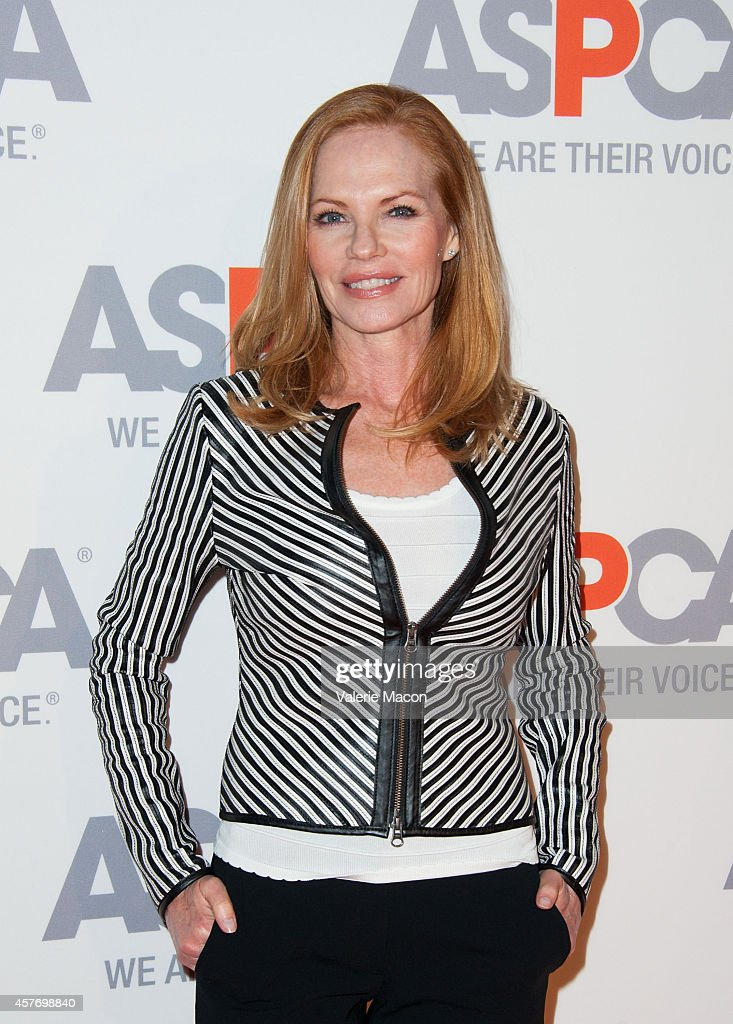Marg Helgenberger arrives at the ASPCA event Honoring Kaley Cuoco-Sweeting And Nikki Reed on October 22, 2014 in Belair, California.