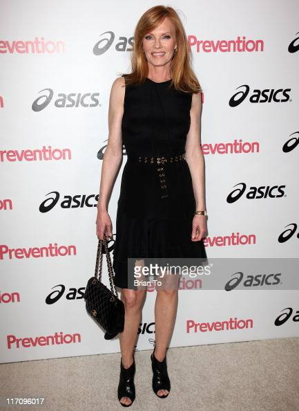 Marg Helgenberger attends Prevention Magazine's 2nd annual prevention honors Hollywood heroes event at Sunset Tower on June 21 2011 in West Hollywood...