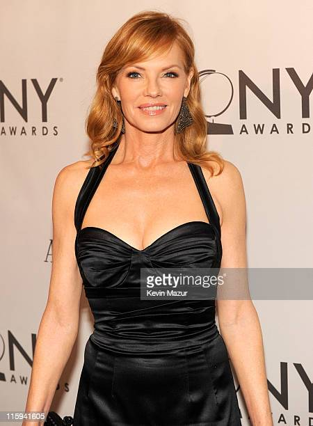 Marg Helgenberger attends the 65th Annual Tony Awards at the Beacon Theatre on June 12 2011 in New York City