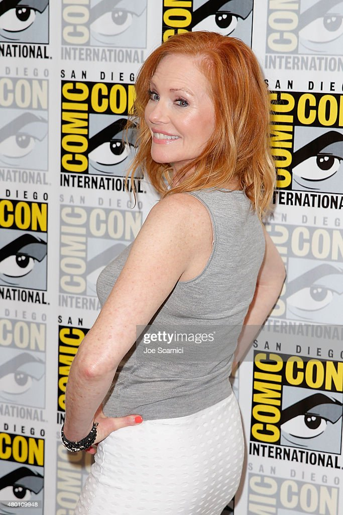Marg Helgenberger attends the CBS press line at Comic-Con International Day 1 on July 9, 2015 in San Diego, California.