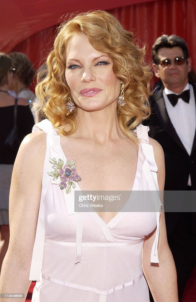Marg Helgenberger during 55th Annual Primetime Emmy Awards - Arrivals at The Shrine Auditorium in Los Angeles, California, United States.