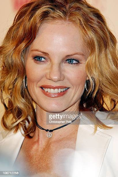 Marg Helgenberger during The 3rd Annual Women Rock Girls Guitars Supporting the Stop Breast Cancer for Life Initiative at The Kodak Theatre in Los...
