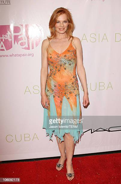 Marg Helgenberger during 'What A Pair 4 ' Arrivals at Wiltern Theatre in Hollywood California United States