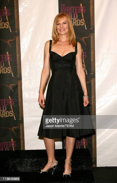 Marg Helgenberger presenter during 2006 Writers Guild Awards Press Room at The Hollywood Palladium in Hollywood California United States
