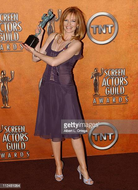 Marg Helgenberger winner for Outstanding Ensemble in a Drama Series for 'CSI Crime Scene Investigation'
