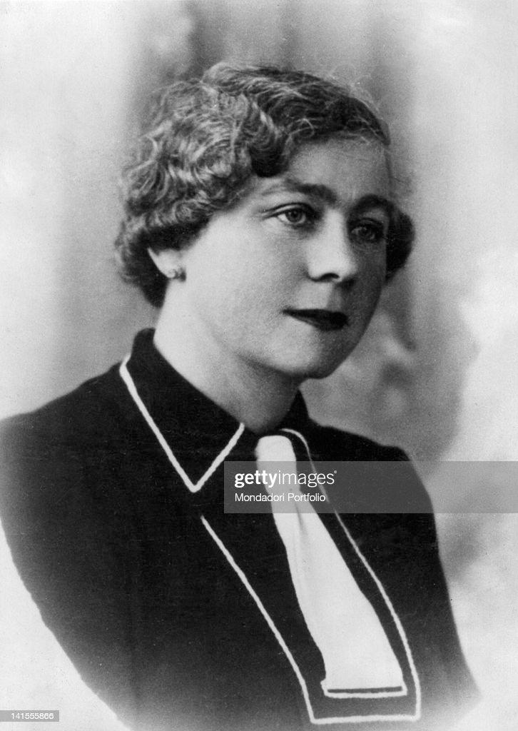 Marga Boodts, presumed Olga Nikolaevna Romanova, daughter of Tsar Nicholas II.