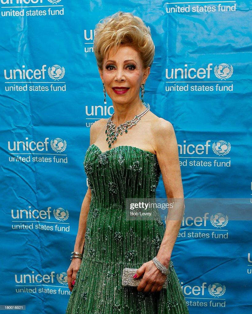 Margaret Alkek Wiliams, Audrey Hepburn Society Philanthropist of the Year Award Honoree at the Wortham Center Brown Theater on September 6, 2013 in Houston, Texas.