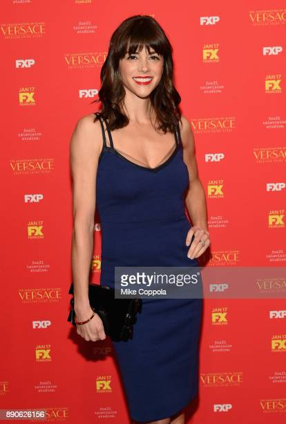 Margaret Anne Florence attends 'The Assassination Of Gianni Versace American Crime Story' New York Screening at Metrograph on December 11 2017 in New...