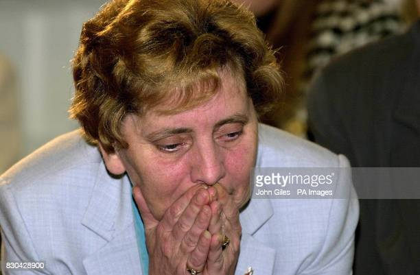 Margaret Aspinall the mother of Hillsborough victim James Aspinall after the judge at Leeds Crown Court refused a retrial * Mr Justice Hooper decided...