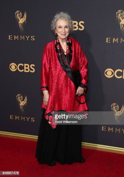 Margaret Atwood attends the 69th Annual Primetime Emmy Awards at Microsoft Theater on September 17 2017 in Los Angeles California