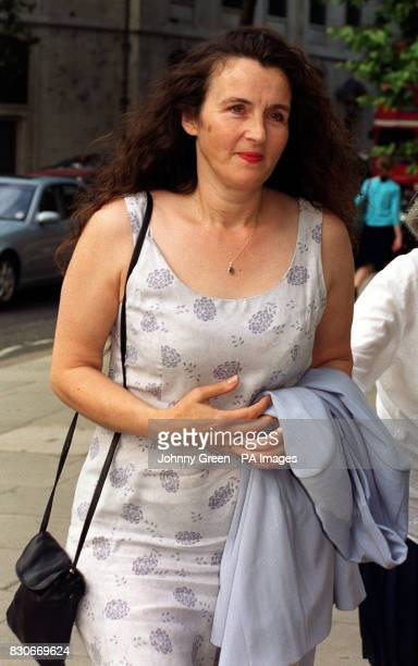 Margaret Briody a 47yearold woman left infertile by a hospital's negligence arriving at the High Court London where she failed in her appeal against...