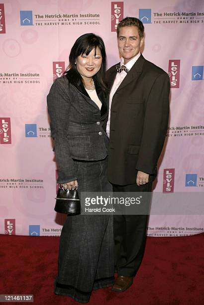 Margaret Cho and Guest during 20th Annual Emery Awards at Cipriani Wall Street in New York City New York United States