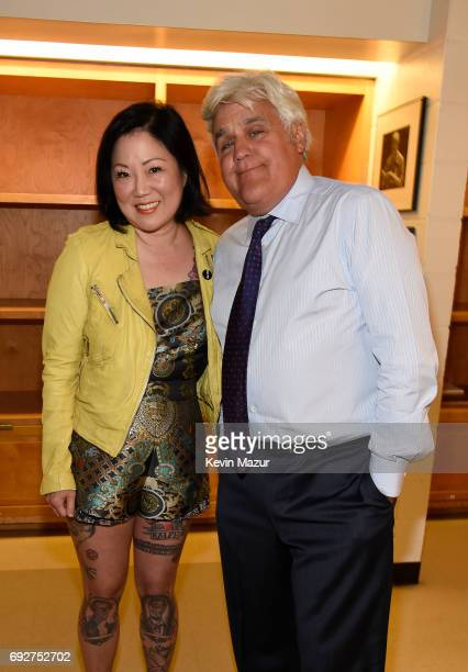 Margaret Cho and Jay Leno attend the National Night Of Laughter And Song event hosted by David Lynch Foundation at the John F Kennedy Center for the...