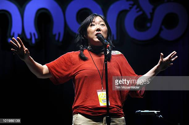 Margaret Cho performs as part of the 2010 Bonnaroo Music and Arts Festival on June 10 2010 in Manchester Tennessee
