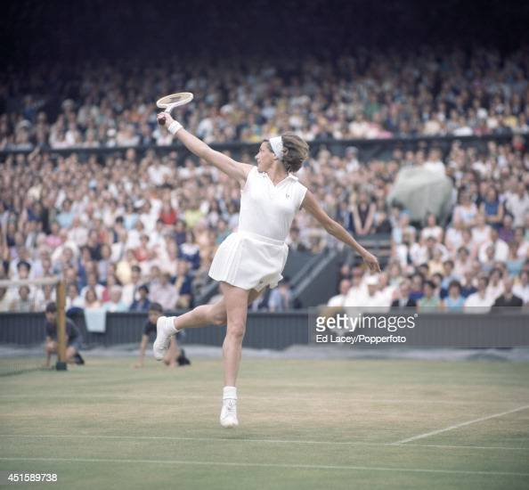 Margaret Court of Australia in action at Wimbledon circa July 1969 Though Court lost in the Semifinals of the Women's Singles she and Judy Tegart...