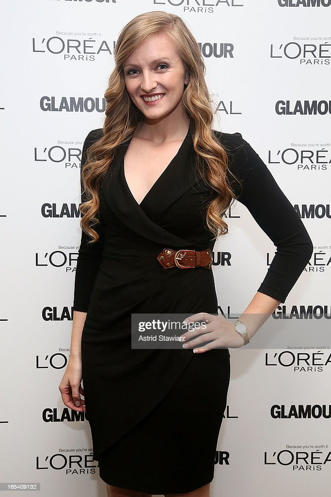 Margaret Gilroy attends the Glamour And L'Oreal Paris Celebration for the Top Ten College Women at The Diana Center At Barnard College on April 3, 2013 in New York City.
