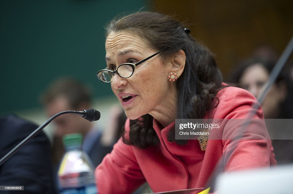 Margaret Hamburg, commissioner of the Food and Drug Administration, testifies at a House Energy and Commerce Oversight subcommittee hearing on 'The Fungal Meningitis Outbreak: Could It Have Been Prevented?'