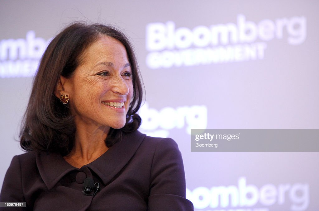Margaret Hamburg, commissioner of the Food and Drug Administration (FDA), smiles during the Bloomberg Government's 'Mind The Gap: Connecting Health Care Policy with Next Century Innovation' conference in Washington, D.C., U.S., on Tuesday, Nov. 5, 2013. The conference brings together business and government leaders to discuss the transformation of health care through technology and innovation. Photographer: Julia Schmalz/Bloomberg via Getty Images Margaret Hamburg