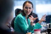 Margaret Hamburg commissioner of the Food and Drug Administration speaks during an interview in Washington DC US on Wednesday May 28 2014 A new...