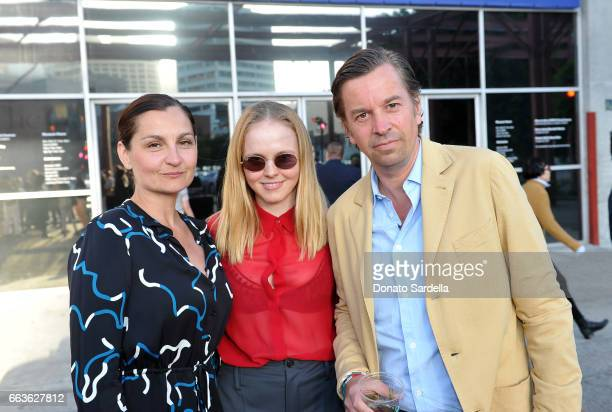 Margaret Kunath Olivia Barrett and Friedrich Kunath attend MOCA's Leadership Circle and Members' Opening of 'Carl Andre Sculpture as Place 19582010'...