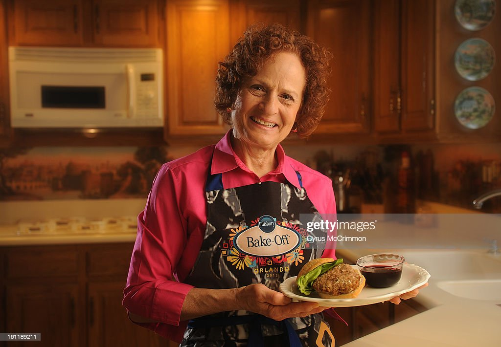 Margaret Martinez is a finalist in the Dinner Made Easy category in the Pillsbury Bake-Off, a baking contest. Martinez was in the kitchen at her Westminster home on Tuesday, March 13, 2012 with her award winning creation 'Savory Turkey Burger with Pomegranate Molasses.' Cyrus McCrimmon, The Denver Post