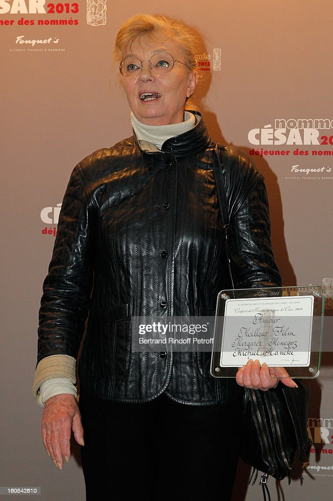 Margaret Memegoz attends the Cesar 2013 nominne lunch at Le Fouquet's on February 2, 2013 in Paris, France.
