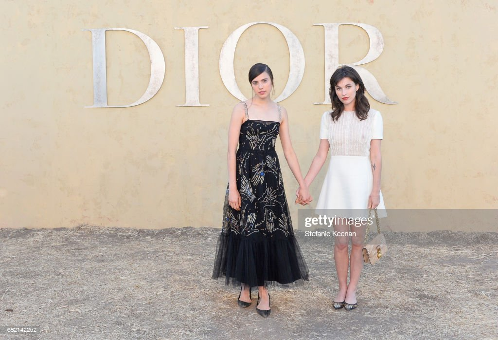 Margaret Qualley and Rainey Qualley at Christian Dior Cruise 2018 Show and After Party at Gladstone's Malibu on May 11, 2017 in Malibu, California.