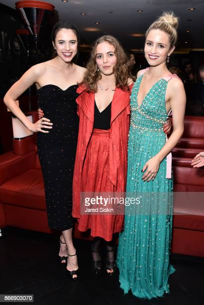 Margaret Qualley Morgan Saylor and Dianna Agron attends Miu Miu The Cinema Society host the after party for Sony Pictures Classics' 'Novitiate' at...