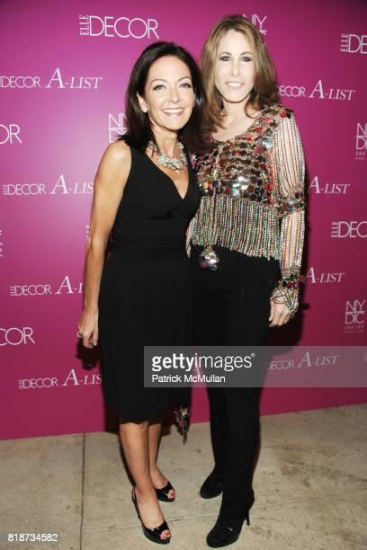 Margaret Russell and Madeline Stuart attend ELLE DECOR ALIST at New York Design Center on June 10 2010 in New York City