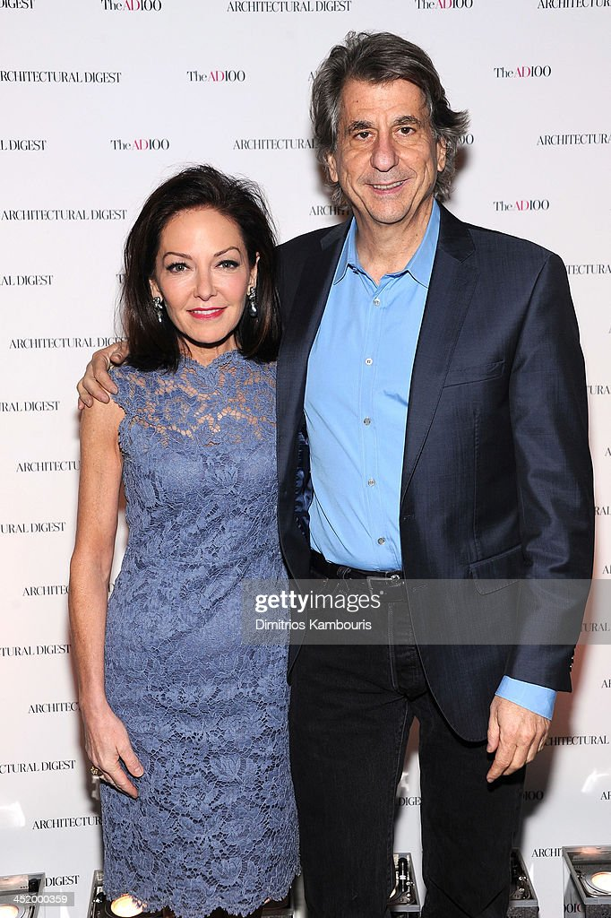 Margaret Russell Editor In Chief of Architectural Digest and David Rockwell attend The AD100 Gala Hosted By Architectural Digest Editor In Chief...