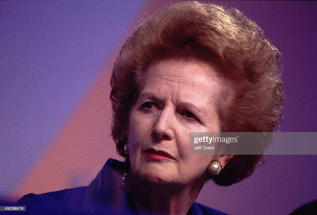 <a gi-track='captionPersonalityLinkClicked' href=/galleries/search?phrase=Margaret+Thatcher&family=editorial&specificpeople=159677 ng-click='$event.stopPropagation()'>Margaret Thatcher</a> - Attending the 1997 Conservative Party Conference.