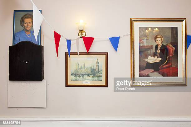Margaret Thatcher House the Vote Leave headquarters in the town of Romford constituency address of Andrew Rosindell MP who would like the UK to leave...