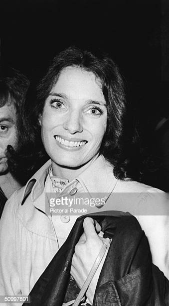 Margaret Trudeau estranged wife of Canadian Prime Minister Pierre Trudeau in London circa 1978
