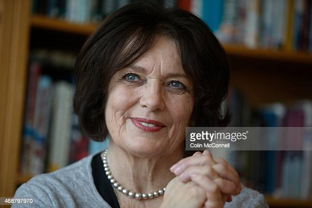 Margaret Trudeau has written a new bookThe Time of Your Lifeabout enjoying a joyful old age She is seen here in Harper Collins office downtown Toronto