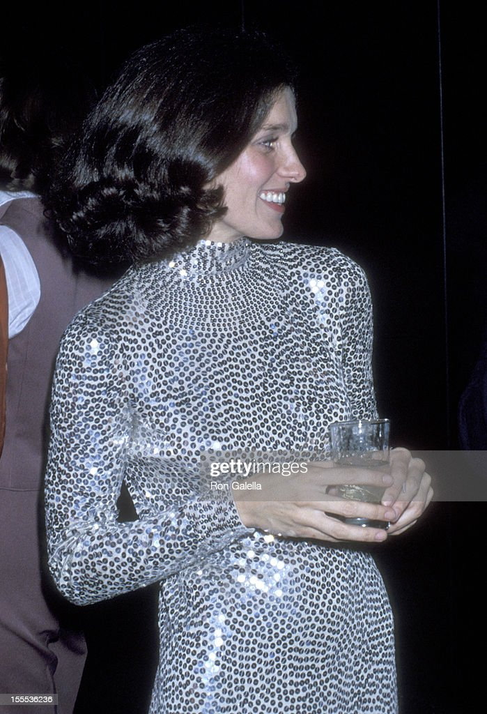 Margaret Trudeau on November 21, 1977 parties at Studio 54 in New York City.