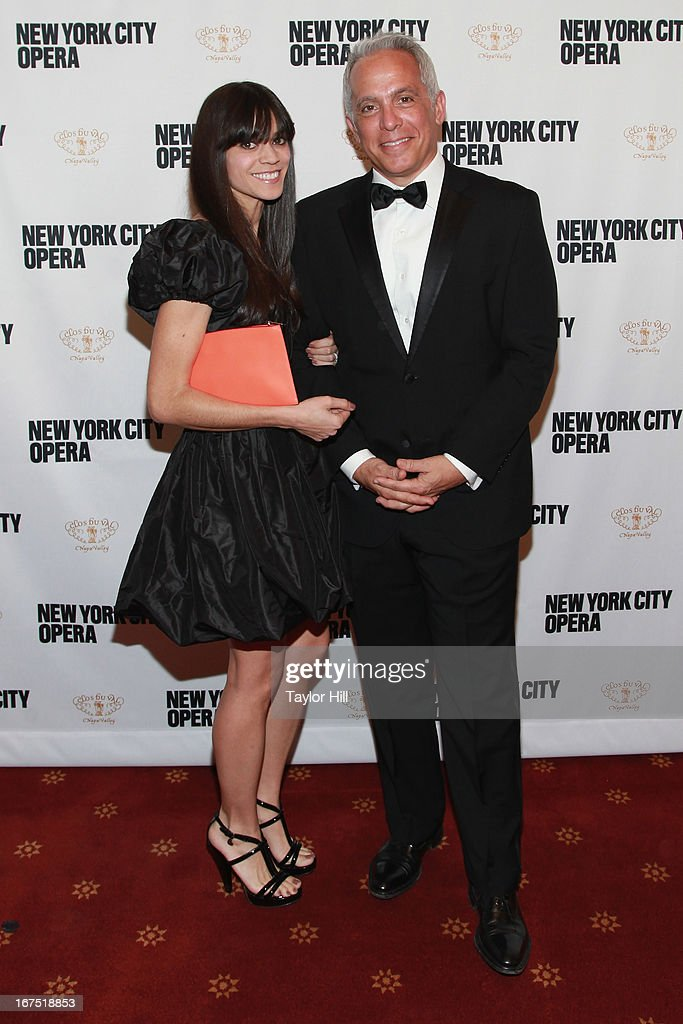 Margaret Zakarian and Geoffrey Zakarian attend the 2013 New York City Opera Spring Gala at New York City Center on April 25, 2013 in New York City.