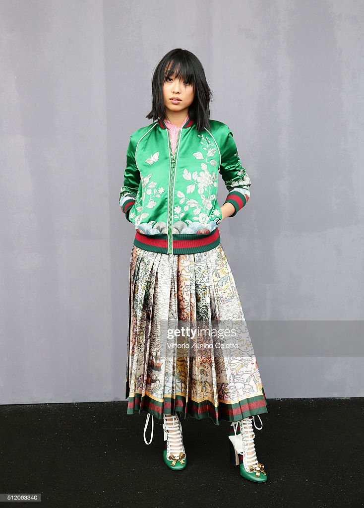Gucci - Front Row - Milan Fashion Week  FW16