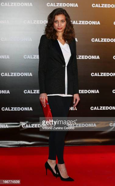 Margareth Made attends Calzedonia Summer Show Forever Together on April 16 2013 in Rimini Italy