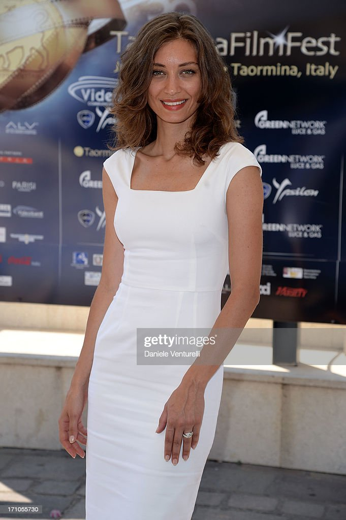 Margareth Made attends Taormina Filmfest 2013 at Teatro Antico on June 21, 2013 in Taormina, Italy.